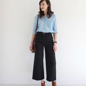 EVERLANE Wide leg crop pants
